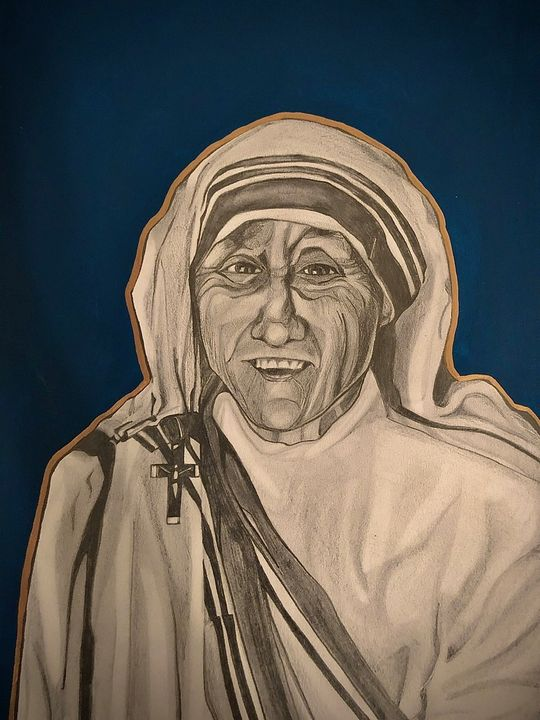 Mother Teresa - Jessie Bee Artworks