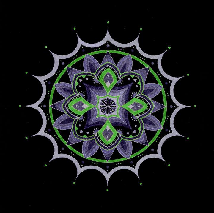 Flower of Darkness - Adrian Perez