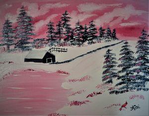 Winters Pink Prairie