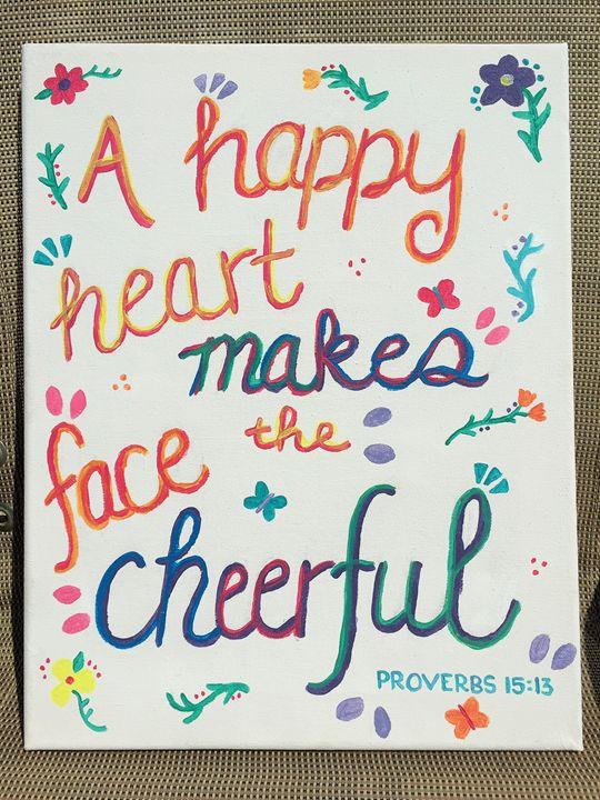 Proverbs 15:13 - FitFaithDesigns