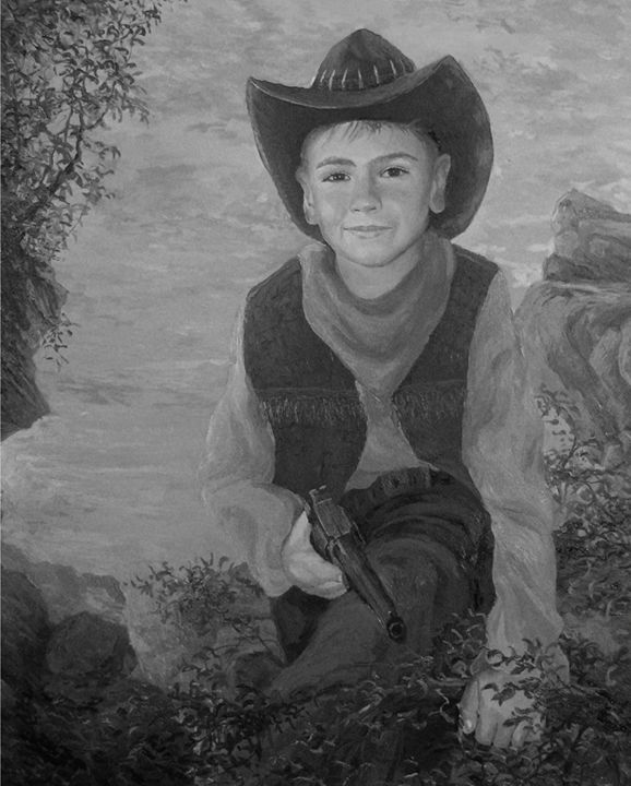 a boy in a cowboy hat - PashaTP