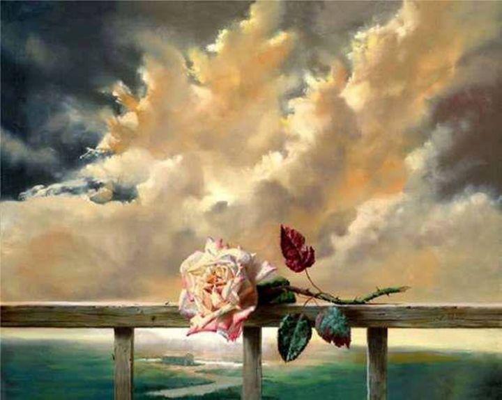 Rose on the parapet - PashaTP