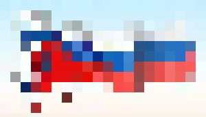 Horse flag of Russia