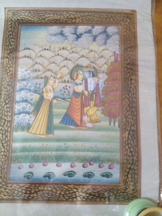 Radhae krishna - Paintings
