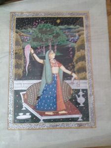 Mughal style painting