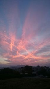 Sky Activity Above The Mountains
