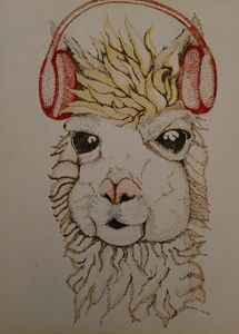 That's My Jam Llama - Starving Artist