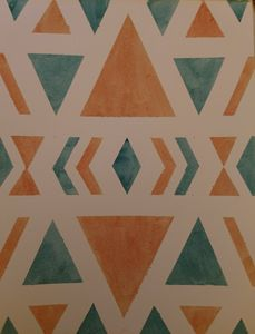 Watercolor Geometric