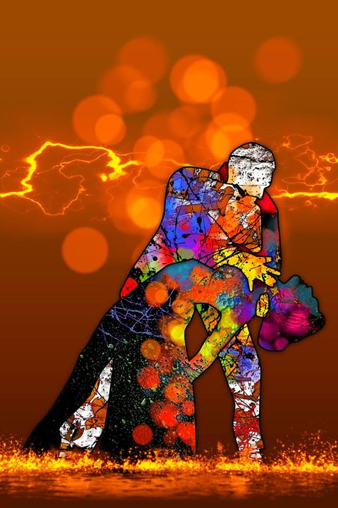 Fire Dance - Teds Art Page