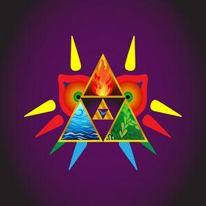 Zelda Inspired Majora Triforce Navi