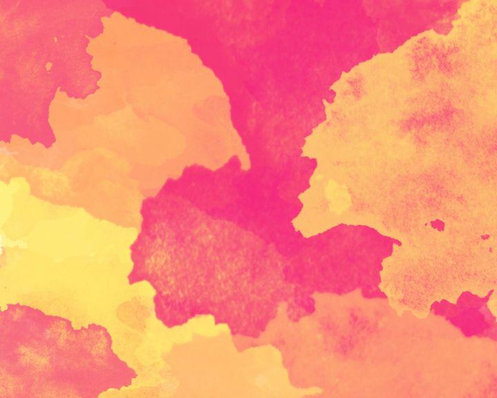 Watercolor Sunset - ArtByGillyReich