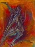 """Dry Pastel on Paper  Size 11""""X8"""""""