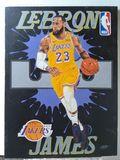 Lebron on canvas