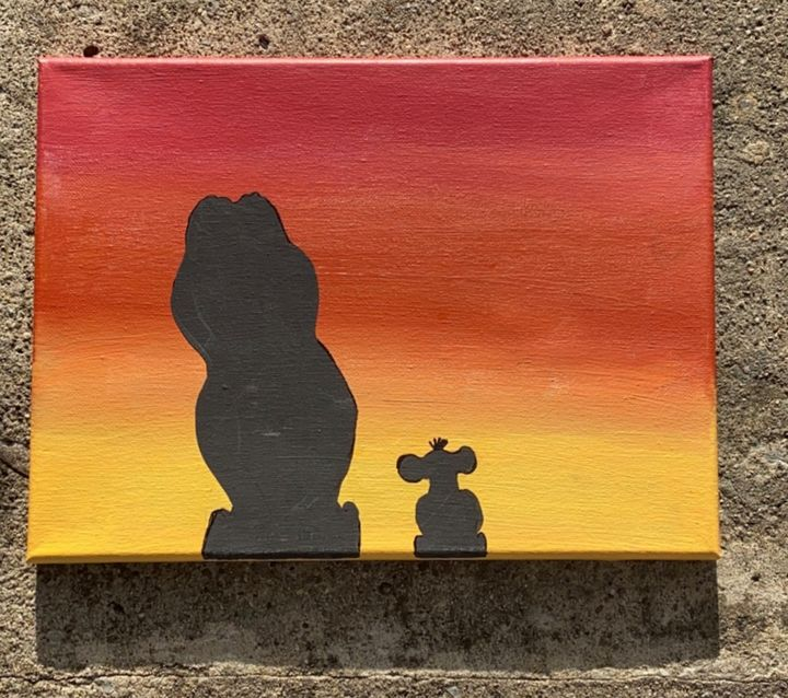 Lion King Silhouette - Aubrie Don