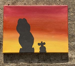 Lion King Silhouette