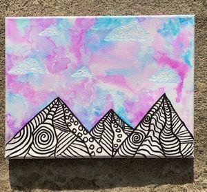 Zentangle Mountains