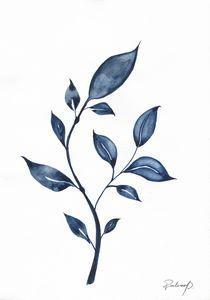 Original Watercolor Botanical Painti