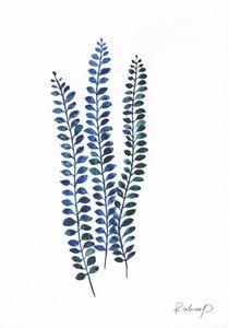 Original Watercolor Botanical