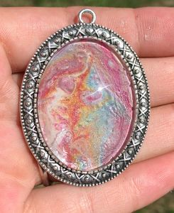 Large Unicorn Line Pendant