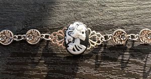 Lady Skull Filigree Bracelet