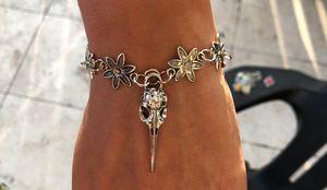 Bird Skull Bracelet