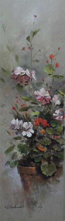 Geranium Flowers - Rozller
