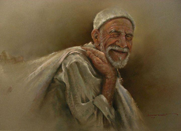 Smiling old man - Rozller