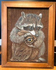 Raccoon and Owl