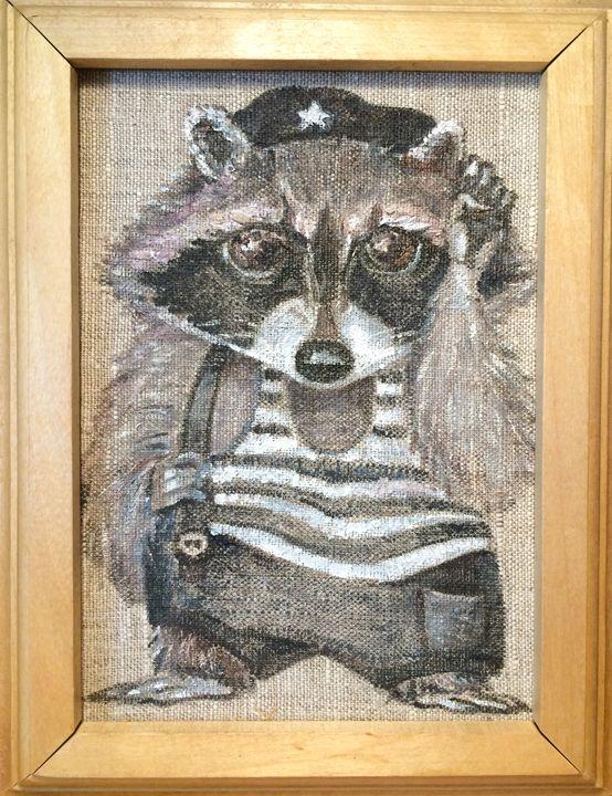 Maritime raccoon - pticiussowa