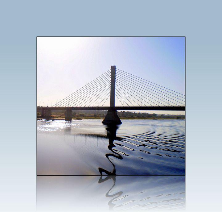 bridge crossing river Nile - Gallery Florette
