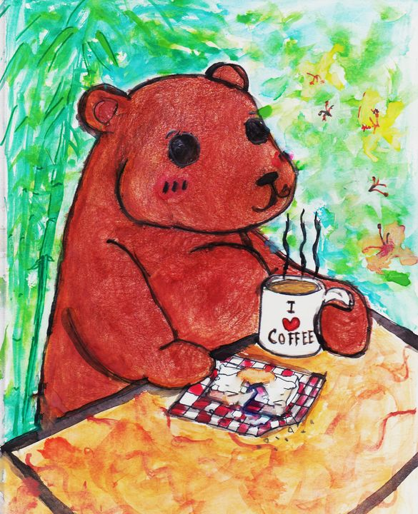 Teddy Bear Take A BreakFast - FahysGallery