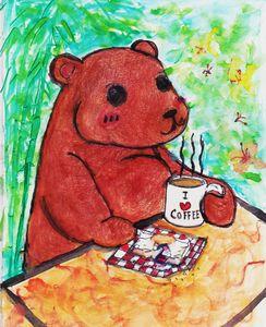 Teddy Bear Take A BreakFast