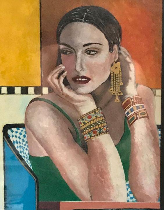 Girl waiting - Edvard Vosghanians