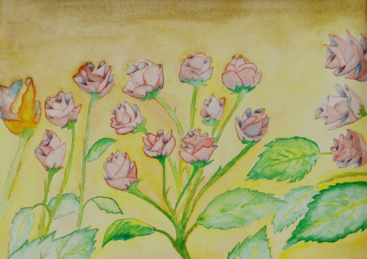 Roses in the Garden - JulioBP