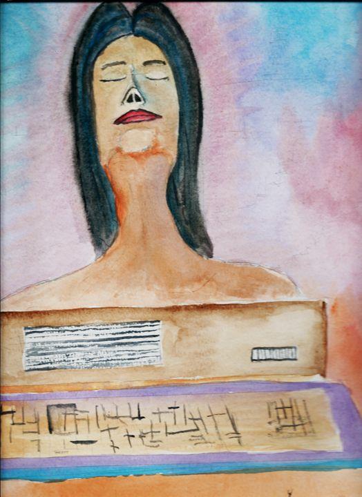 Digital Lady Portrait - JulioBP