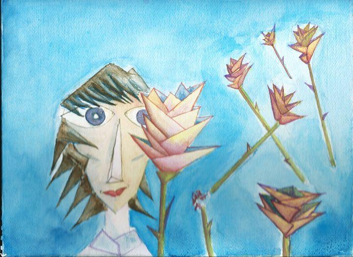 Cristal People, Cristal Flowers - JulioBP