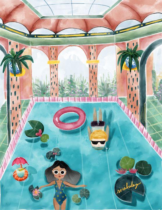 Summer time indoors - Sirikalaya's Pieces