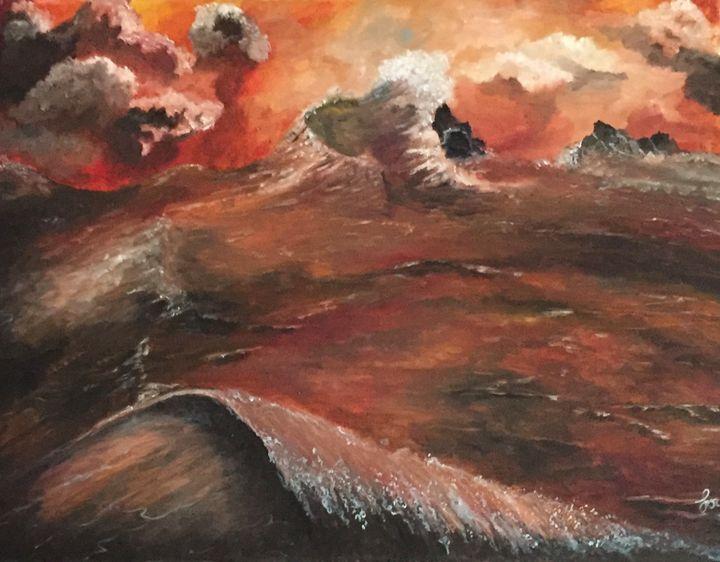 Angry Seas - Olenick's