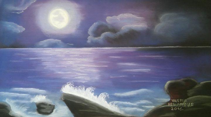 Midnight sea - Prausperger Gallery