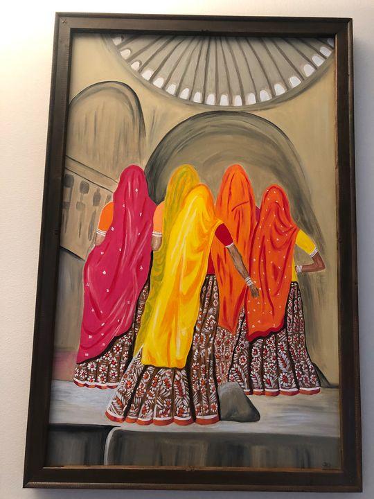 Rajasthani ladies - Dev kala