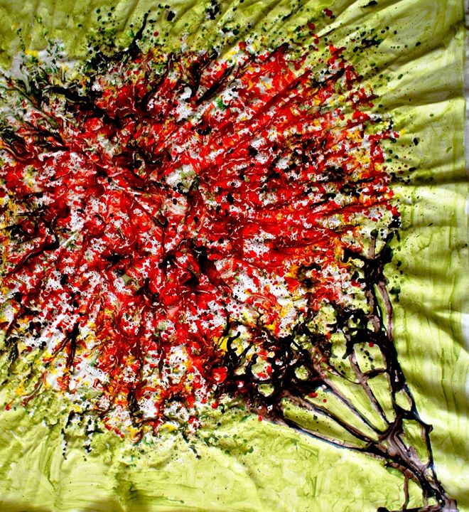 wall of heavenly flowersBOUGENVILLE - ZENMOKSHA FLOWERS