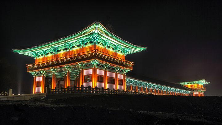 woljeonggyo bridge at night - Aaron Choi Photography