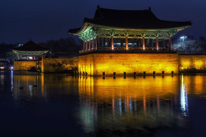 anapji at night - Aaron Choi Photography