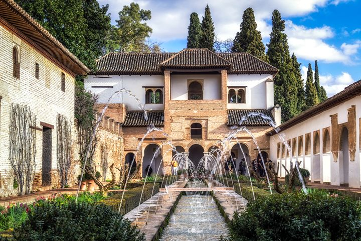 Generalife Gardens of Alhambra - Aaron Choi Photography
