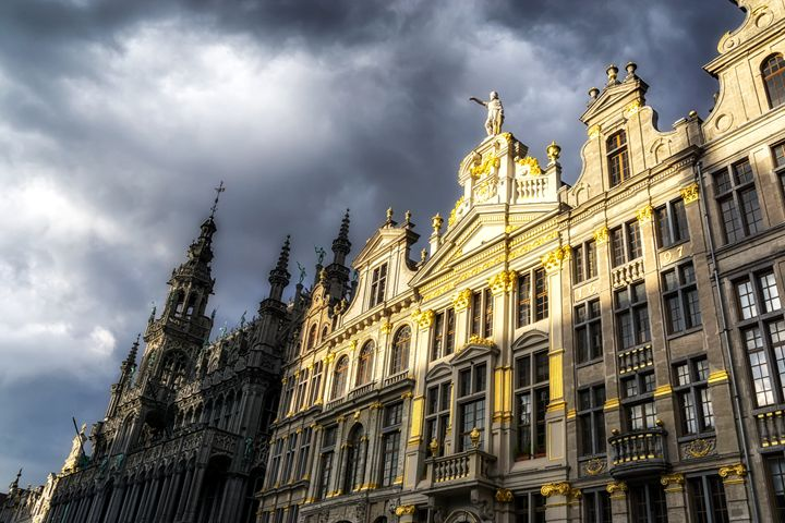 The Grand Place in Brussels - Aaron Choi Photography