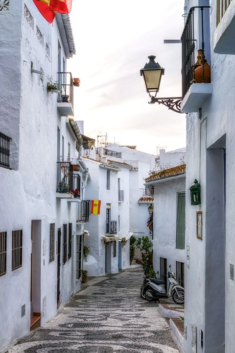 White villages of Frigiliana - Aaron Choi Photography