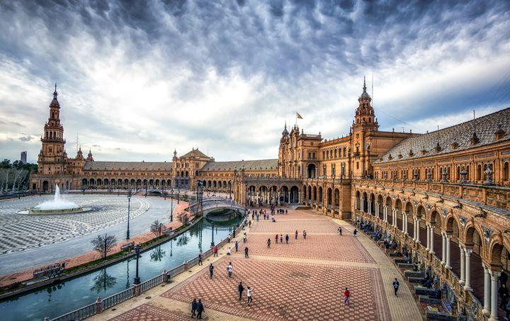 The Plaza de Espana in Sevilla - Aaron Choi Photography