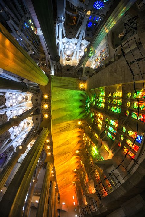 sagrada familia cathedral interior - Aaron Choi Photography
