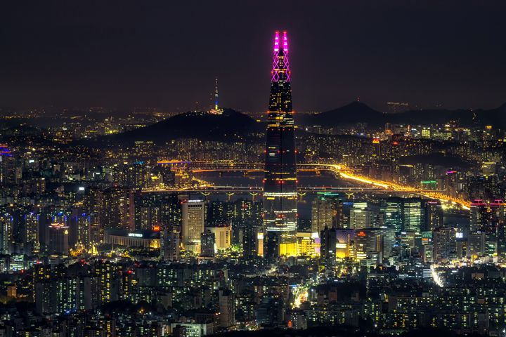Seoul city at Night - Aaron Choi Photography