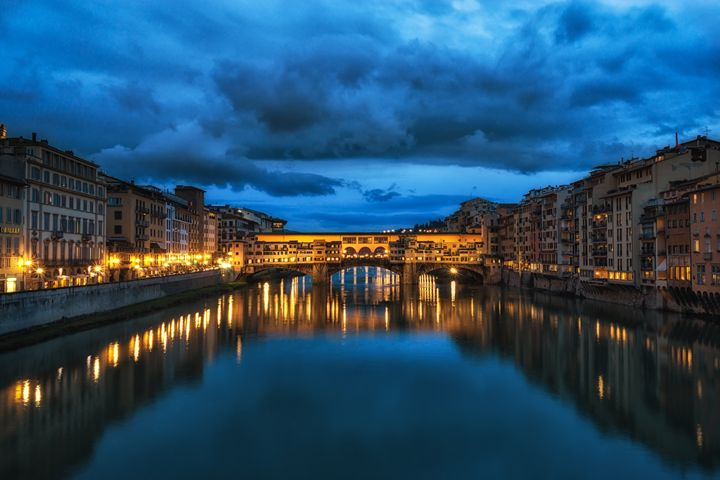 Clouds over Ponte Vecchio - Aaron Choi Photography